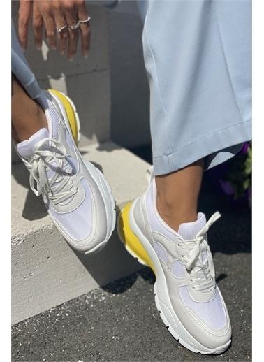 İnan Ayakkabı BAYAN SNEAKER Beyaz